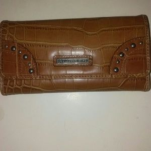 Tommy Hilfiger wallet with checkbook cover